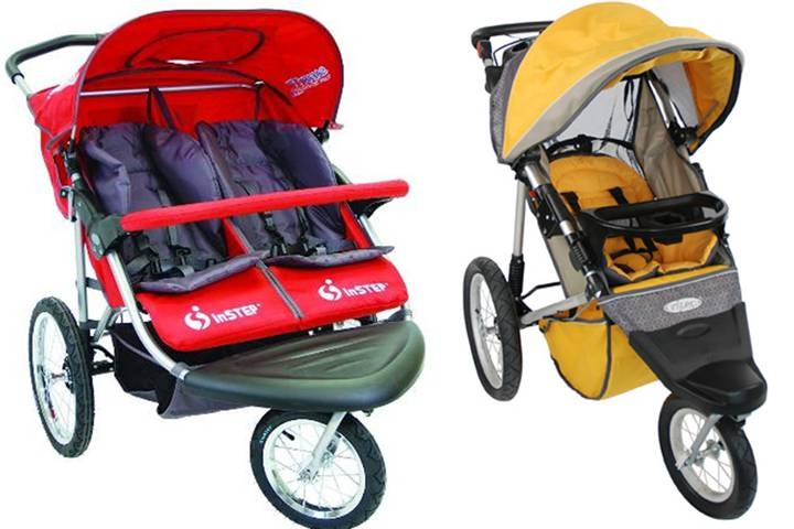 Dorel jogging strollers recalled for safety issue