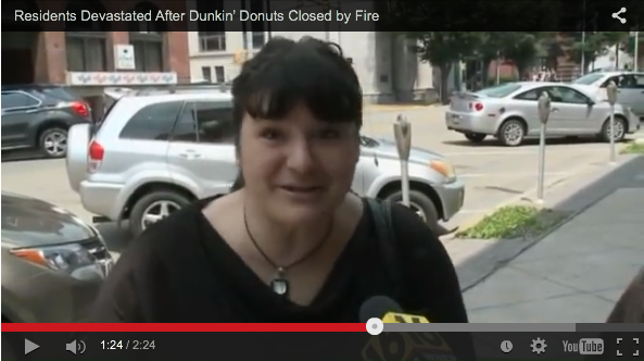 Small Town Is Beyond Upset That Dunkin Donuts Is Closing - WATCH