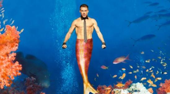 Channing Tatum as a merman?  It's happening!