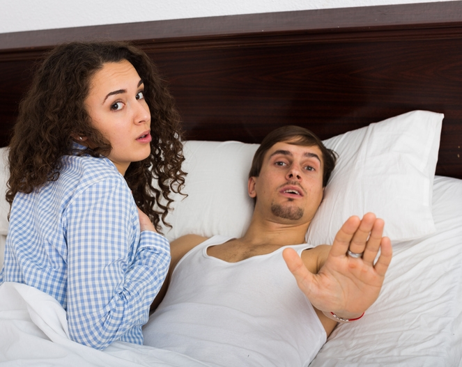 The most common excuse men use when they're CHEATING is...
