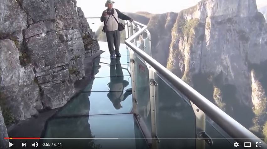 Glass Walkway Officially Opens In China & Is Not For The Faint Of Heart - WATCH
