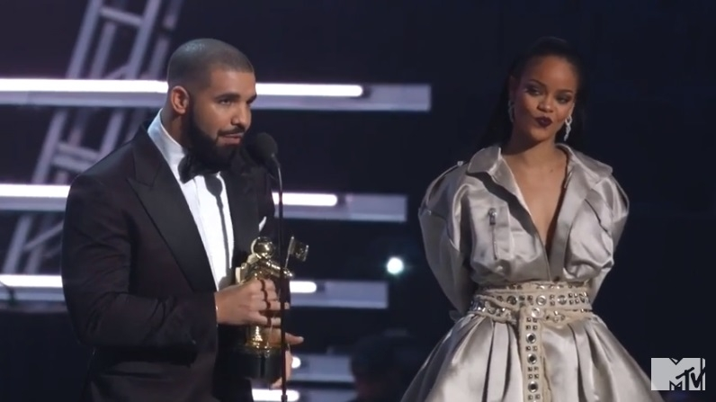 Drake Professing His Love To Rihanna At the VMA's Will Melt Even The Coldest Of Hearts