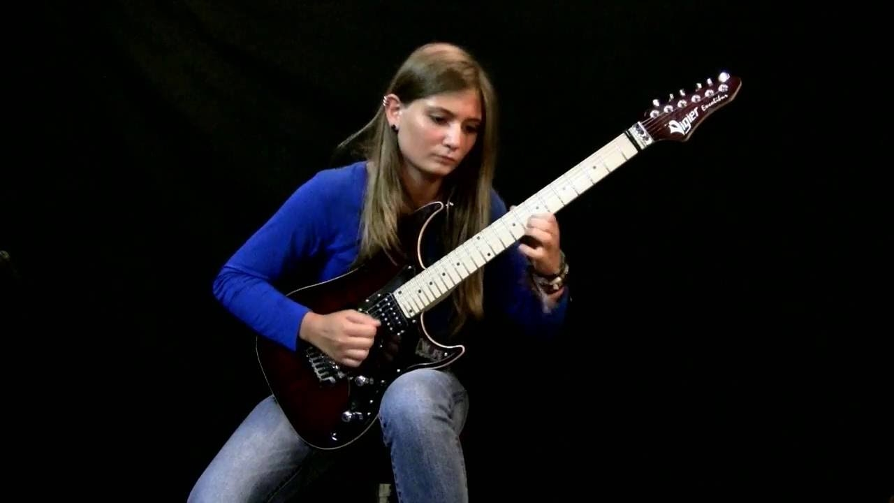16 Year Old Girl Can Rip So Hard On The Guitar, Hendrix Would Be Jealous - WATCH