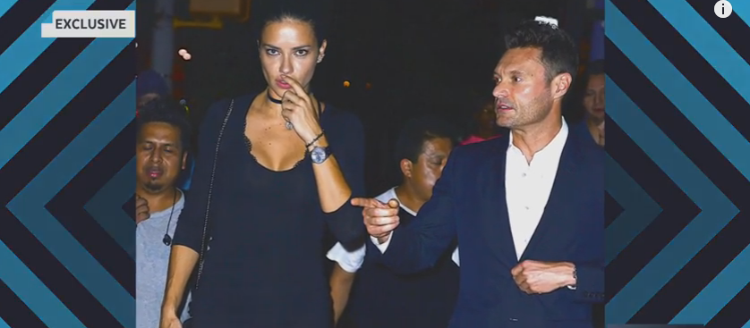 Update..Ryan Seacrest & Adriana Lima are apparently NOT a thing, yet..