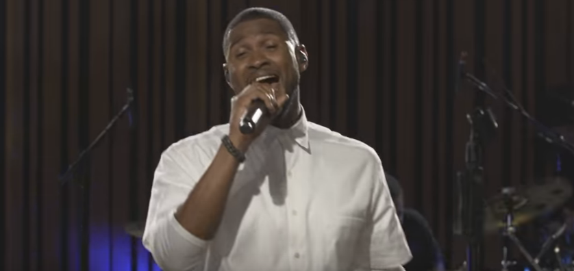 """Usher """"Don't Let Me Down"""" (Chainsmokers cover) WATCH/LISTEN."""