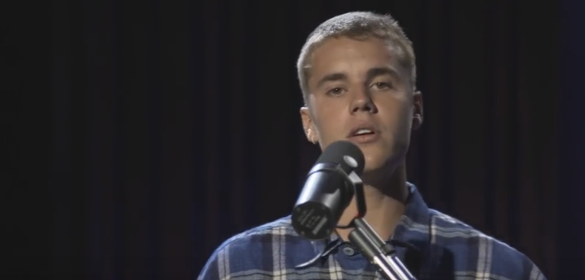"""Justin Bieber performs """"Cold Water"""" in the Live Lounge for BBC Radio 1"""