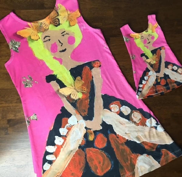 Turn kids drawings into kids clothes