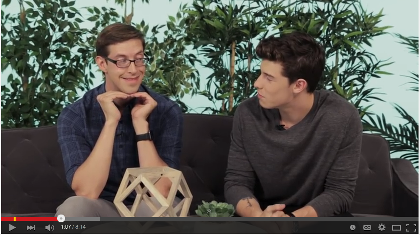 Shawn Mendes Stopped By Buzzfeed And Let His Twitter Followers Tell Him What To Do - WATCH
