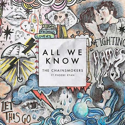 """The CHAINSMOKERS keep making HITS!  Will """"All WE KNOW"""" be another one?? (LISTEN)"""