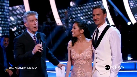 "Ryan Lochte Says He Feels ""A Little Hurt"" After Protesters Storm Stage At DWTS Season Premire"