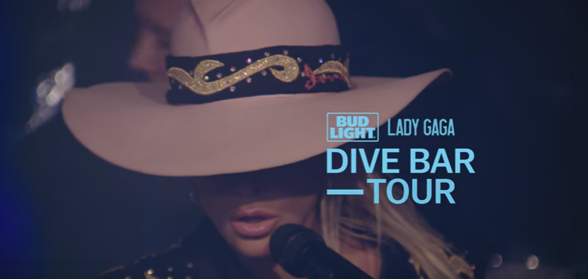 "WATCH/LISTEN to Lady Gaga perform new track ""A-Yo"" at a dive bar."