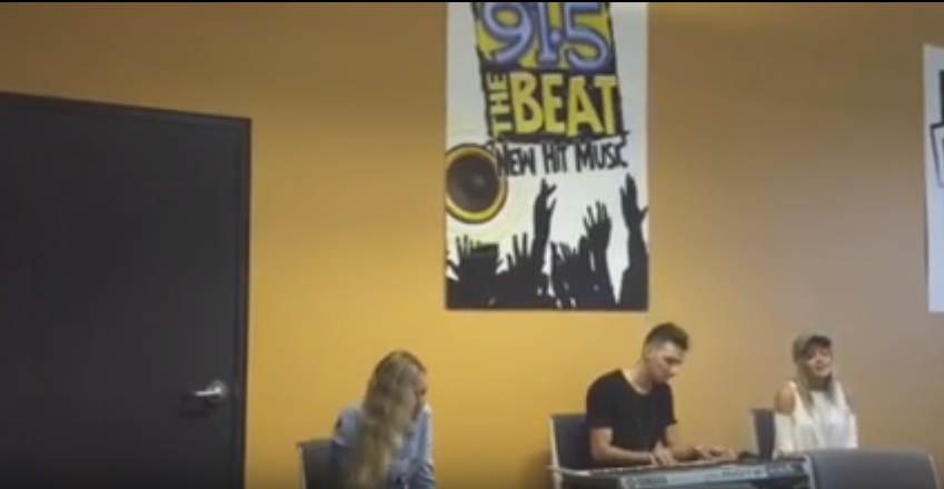 "Co-writer of the Chainsmokers smash hit ""Closer"" drops by the Beat studios for a performance!"