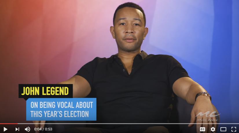 Why John Legend is speaking out about Donald Trump and the 2016 election. WATCH/LISTEN: