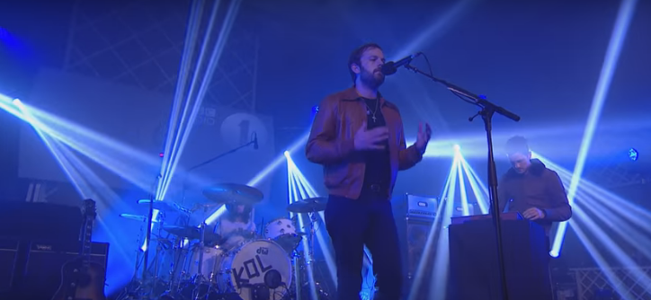 "Kings Of Leon cover Selena Gomez ""Hands To Myself""."