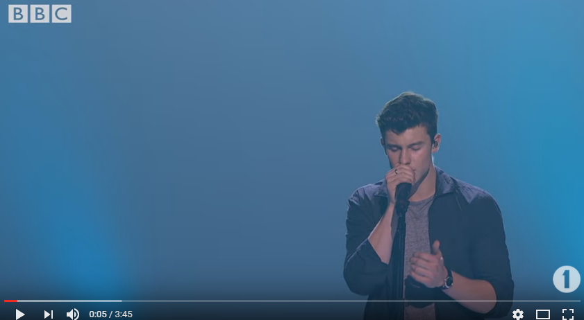 WATCH: Shawn Mendes perform at BBC's Radio 1 Teen Awards.