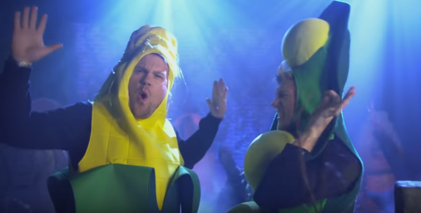 James Corden and Niall Horan release 'Candy' video to make your Halloween dreams a reality.
