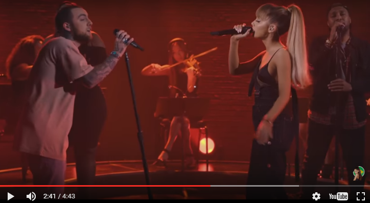 "WATCH: Mac Miller & Ariana Grande perform ""My Favourite Part""."