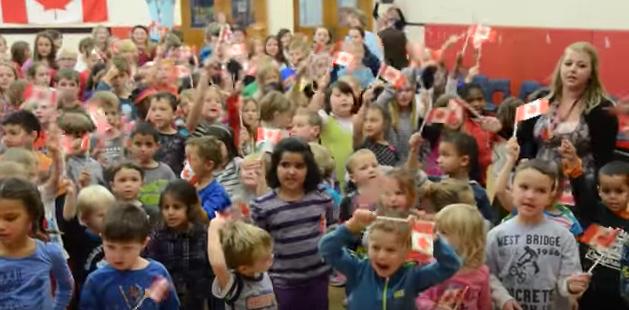 The kids at Smithson Public School are recording stars!