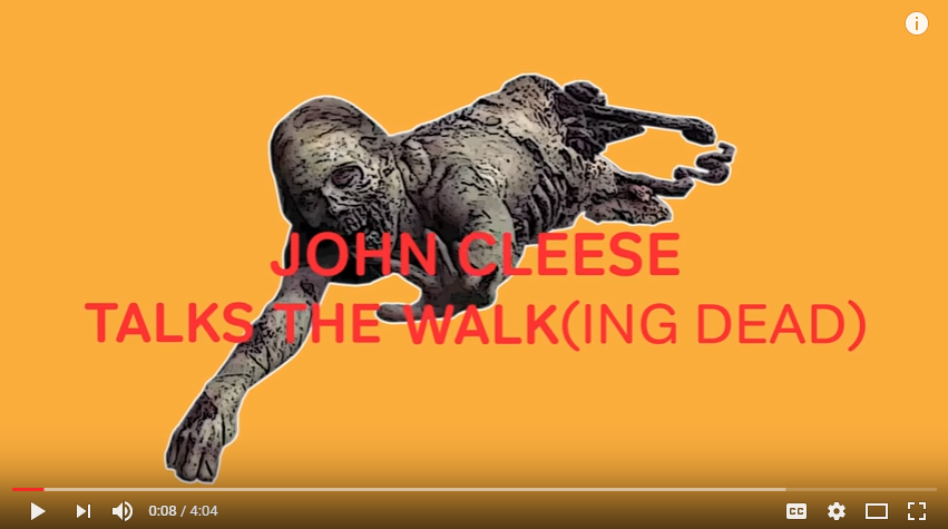 John Cleese Explaining The Breakdown Of 'The Walking Dead' Is Everything You Need This Rainy Thursday - WATCH