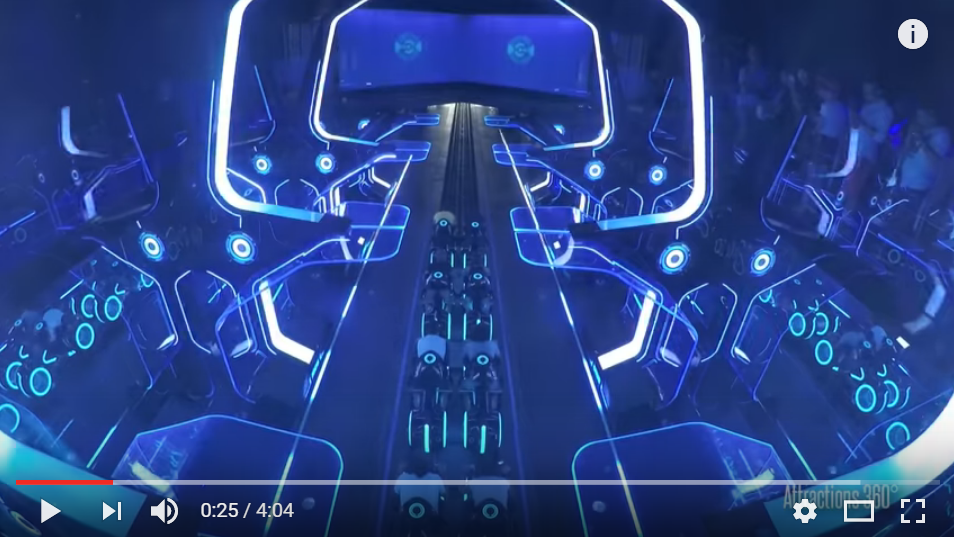 The New TRON Inspired Coaster At Shanghai Disney Will Blow Your Mind - WATCH