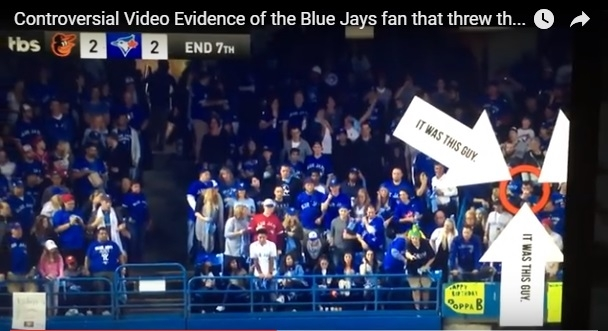 Here Is A Video Of *WHOEVER* Threw That Beer Can At The Jays Game