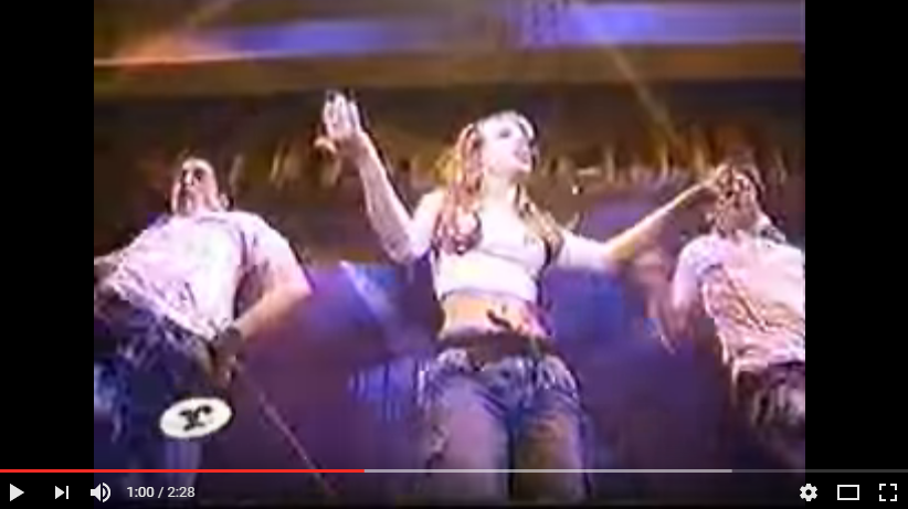 #TBT WATCH Britney Spears first television performance ever!