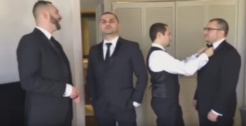 WATCH: My buddies and I made a groomsmen mannequin challenge video over the weekend!