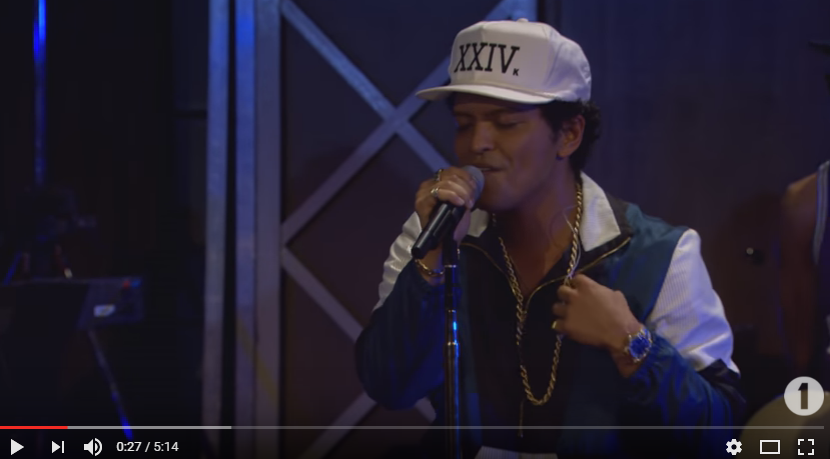 WATCH & LISTEN to Bruno Mars cover this Adele song. Has a real 90's feel to it on this #ThrowbackThursday!