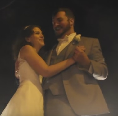 WATCH:These newlyweds had their first dance in the middle of a highway