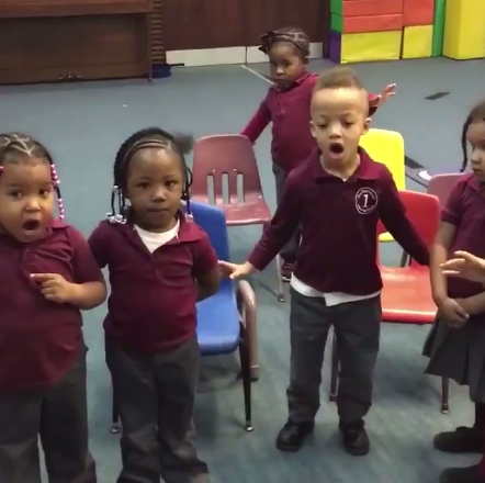 VIDEO:Watch these 4 year olds adorably attempt to do the Mannequin Challenge