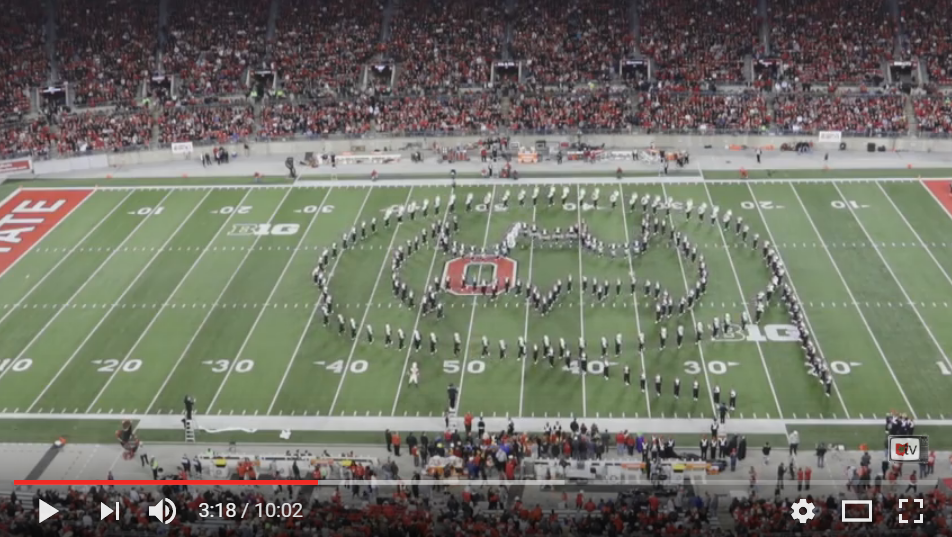 Ohio State Halftime Show Inspired By Superheroes Will Blow Your Football Mind - WATCH