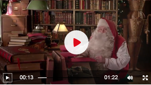 Find Out How To Send A Personal Video Message From Santa To Your Kids - HERE