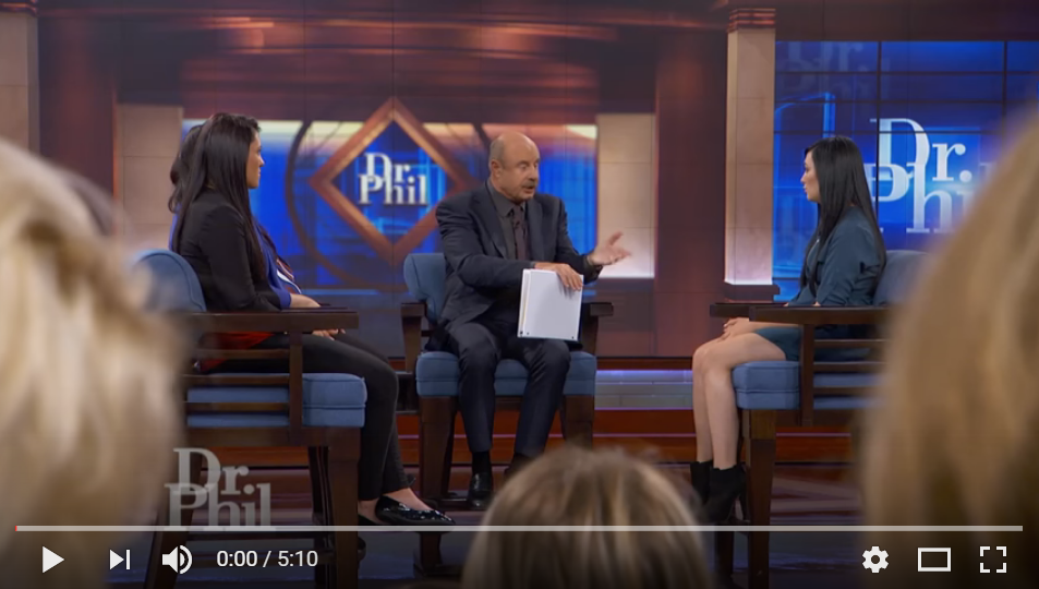 Dr. Phil Sits Down With A Teen Who Is Convinced Eminem Is Her Dad - WATCH