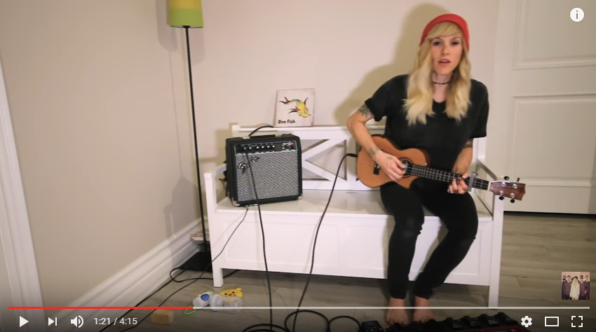Sarah Blackwood From 'Walk off The Earth' Covers Keith Urbans Latest - Don't Miss WOTE This December in Kitchener!