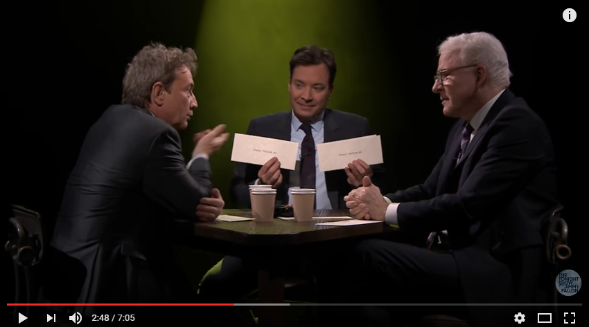 ICYMI Martin Short & Steve Martin Played True Confessions With Jimmy And It Was Incredible - WATCH