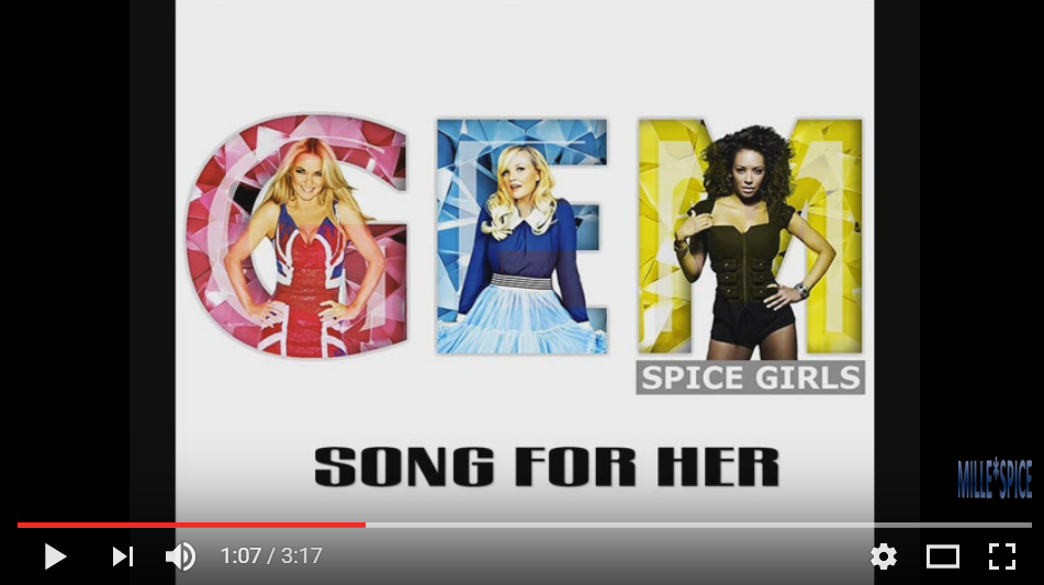 STOP RIGHT NOW! There Is A New Spice Girls Song... Well Sorta - WATCH