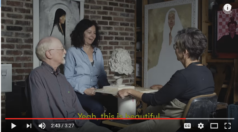 WatchCut Videos Ask Blind People To Describe Their Loved Ones To A Sculptor: The Results Are Amazing - WATCH