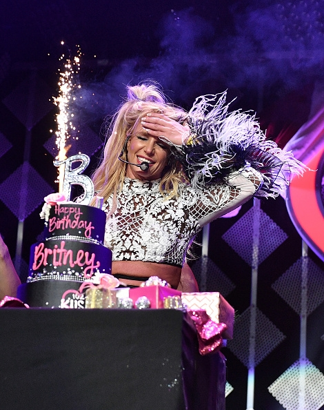 BRITNEY celebrates her BIRTHDAY!