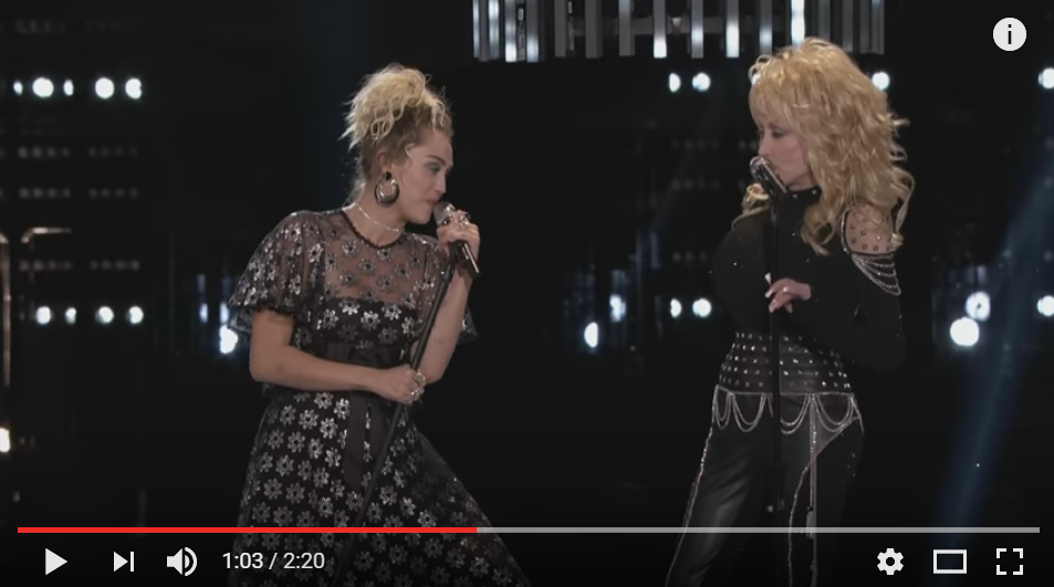 ICYMI: Dolly Parton Stopped By The Voice To Sing A Powerful Version Of 'Jolene' With Miley Cyrus - WATCH