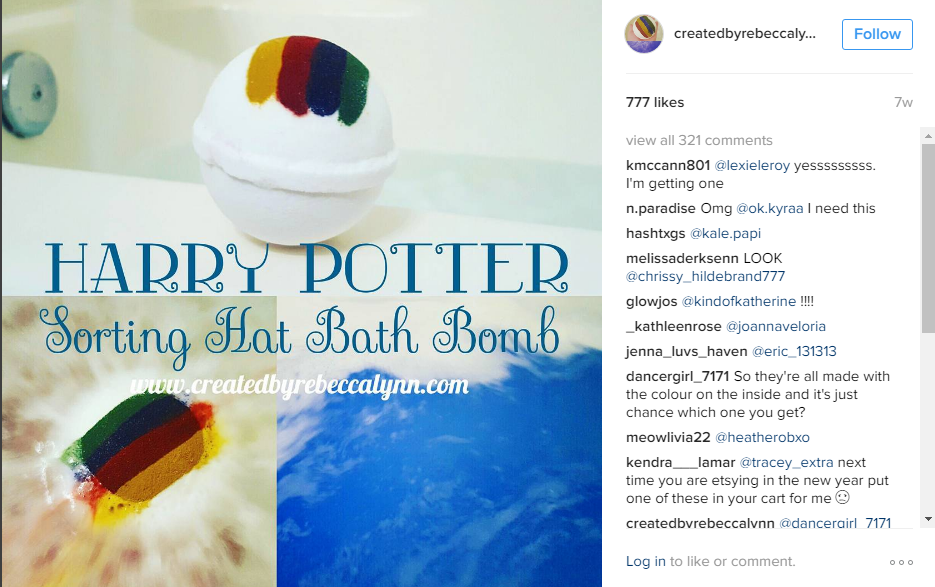 A Women Creates A Harry Potter Inspired Bath Bomb That Will Sort You Into Houses - CHECK IT OUT