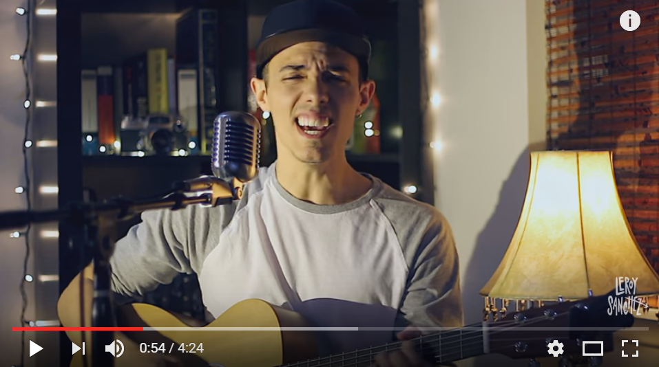 Leroy Sanchez Does Stunning Acoustic Cover Of Shawn Mendes 'Mercy' - WATCH & LISTEN