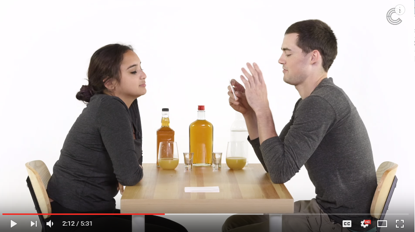 **Adult Content** Would You Play 'Truth or Drink' While On A Blind Date? - WATCH