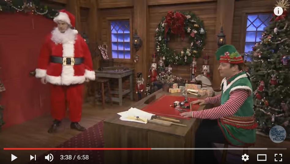Chris Pratt & Jimmy Fallon Play A Holiday Version Of Mad Lib Theater - WATCH