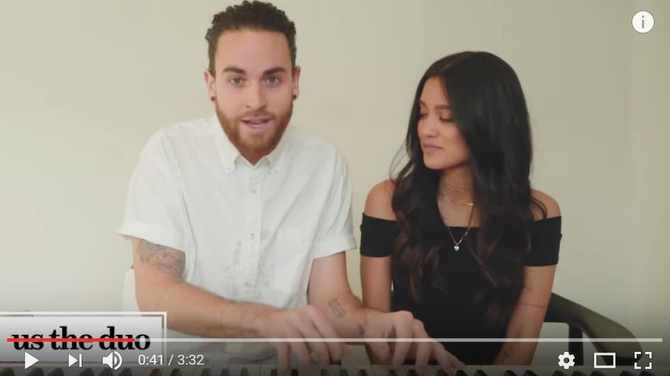 Us The Duo Cover The Top Hits Of 2016 In All It's Musical Glory In Just 3 Minutes - WATCH