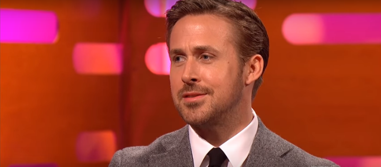 WATCH: Ryan Gosling cringe while he watches his old dance moves.