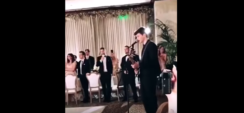 Shawn Mendes belts out a new song at friend's wedding. WATCH/LISTEN..
