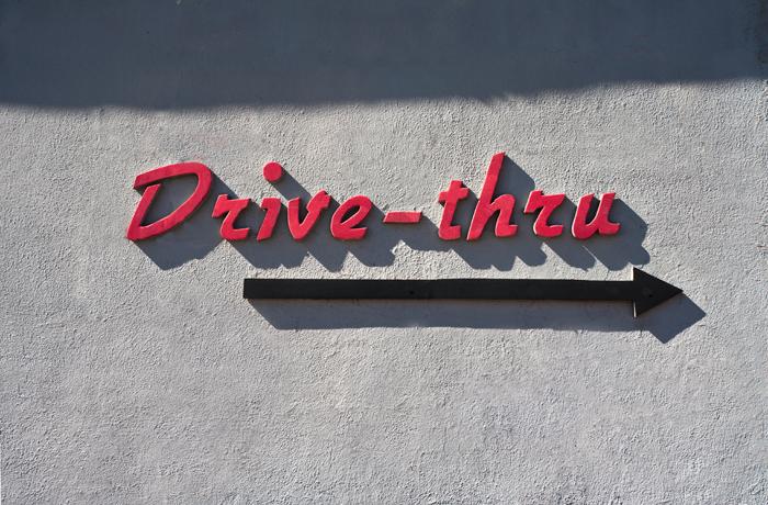 Drive-thru drive you crazy?