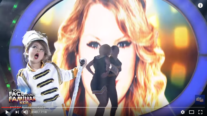 7 Year Old From The Philippines Nails Impression Of Taylor Swift - WATCH
