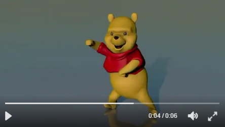A Dancing Winnie The Pooh Has Gone Viral And It's Guaranteed To Make You Smile - WATCH