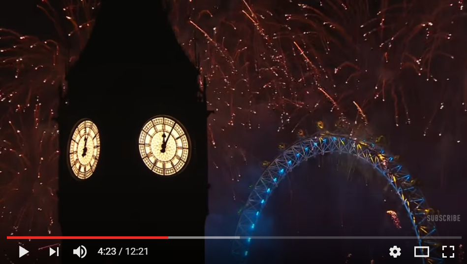 "The Firework Display In London For New Years Is The Ultimate ""Ohh, Ahh"" Experience _ WATCH"